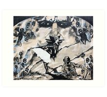 'The Enigma (False Idol)' Art Print