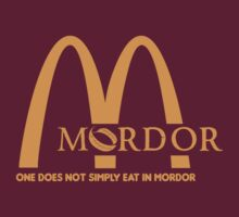 McMordor Parody Shirt by hopper1982