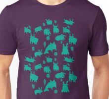 Weebeasts (teal) T-Shirt
