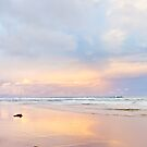 the pastel sunset by Ange Wall