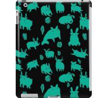 Weebeasts (teal) iPad Case/Skin