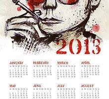 HST 2013 Calendar by fixtape