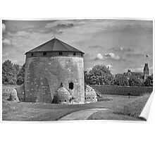 Martello Tower Poster
