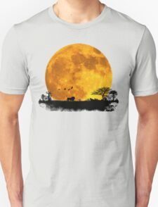 African Moonrise T-Shirt