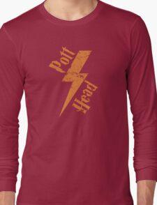Pott Head - Wizard Fan Harry Potter Shirt Long Sleeve T-Shirt