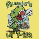 Auntie's Little T-Rex Dinosaur by MudgeStudios