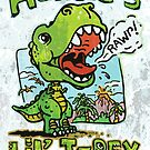 Auntie's Little T-Rex by MudgeStudios