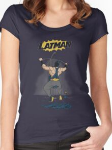 LATMAN Women's Fitted Scoop T-Shirt