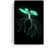 Digital Tree Canvas Print