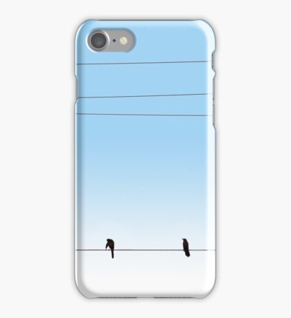 Morning Wire iPhone Case/Skin