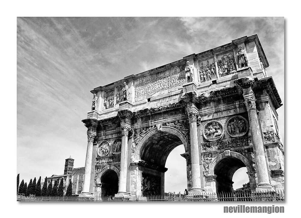 The Arch of Constantine by NevilleMangion