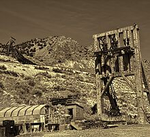 Abandoned Headframes by Brenton Cooper