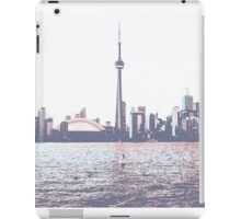 Red and Blue Toronto Symmetry iPad Case/Skin