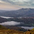 View of Grasmere with Herdwick Sheep by JMChown
