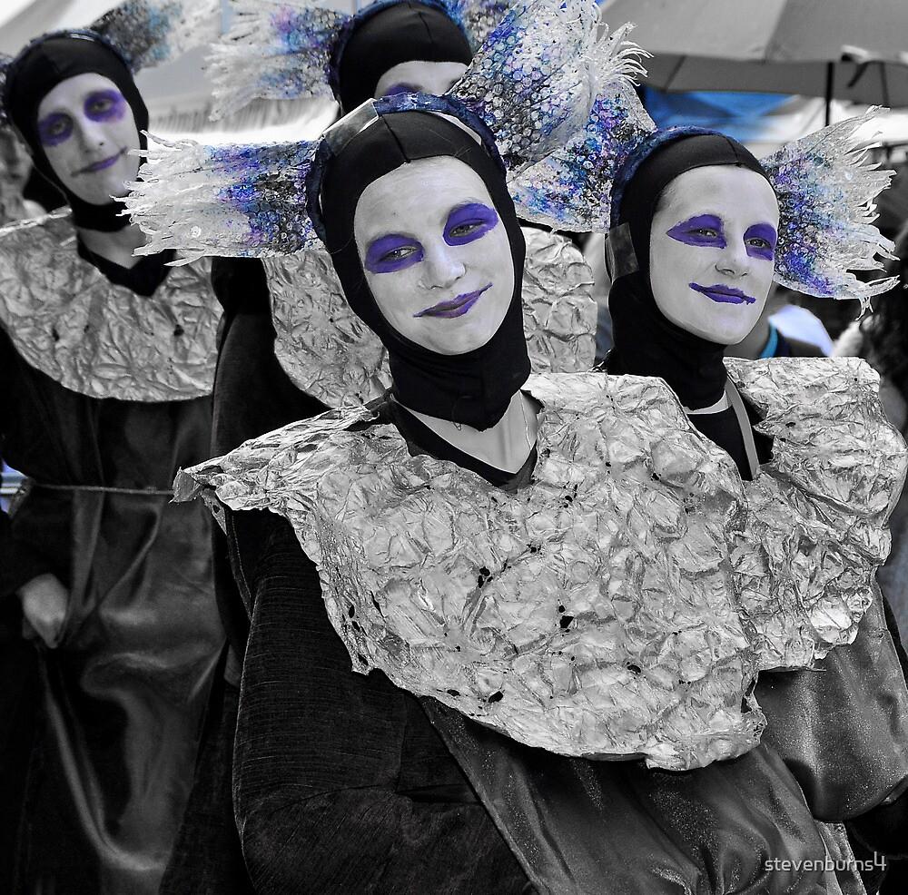 blue nun! by stevenburns4