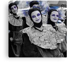 blue nun! Canvas Print