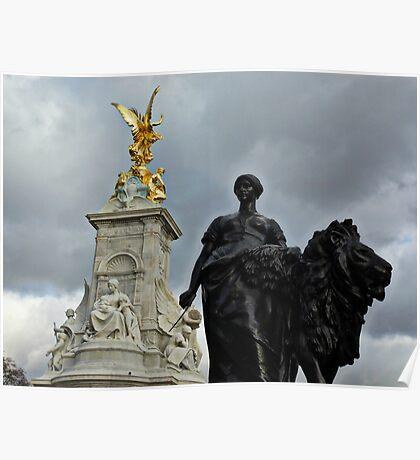 'Queen Vic Memorial'  Poster