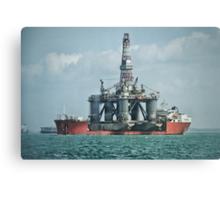 Dockwise Triumph Canvas Print