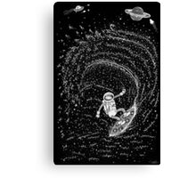 Surfing the Stars Canvas Print