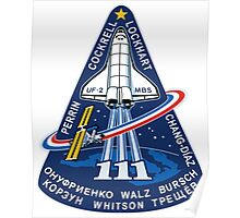 STS-111 Mission Logo Poster