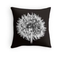 Dandlion Clock Throw Pillow