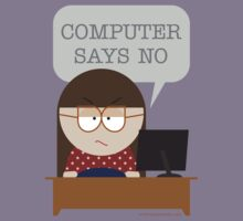Computer says no by tudi