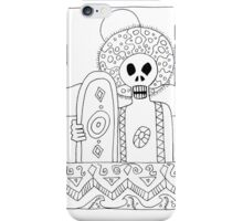 Surf zombies iPhone Case/Skin