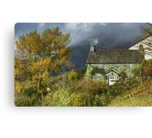 Little Langdale  Canvas Print