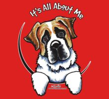 Saint Bernard :: Its All About Me by offleashart