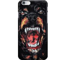 Rottweiler dog givenchy iPhone Case/Skin