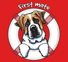 Saint Bernard :: First Mate Kids Tee