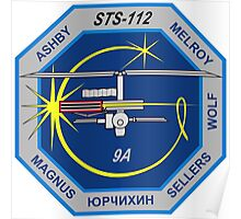 STS-112 Mission Logo Poster