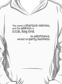221B Bag End-SH T-Shirt