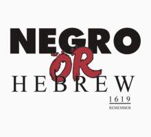 NEGRO OR HEBREW? T-Shirt