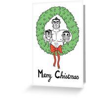 Teen Wolf Christmas  Greeting Card