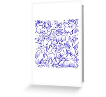 Delft Nugs Greeting Card