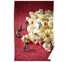 Hollywood popcorn Poster