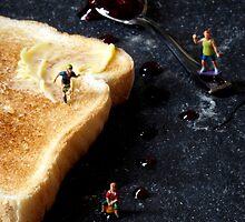 Jam on toast by Bitesized