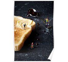 Jam on toast Poster