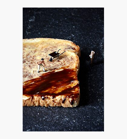 Marmite and toast Photographic Print
