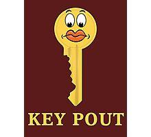 Key Pout Photographic Print