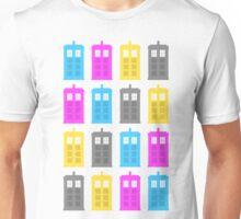 CMYK Tardis Unisex T-Shirt