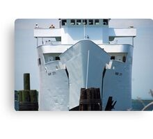 "Ferry: "" M/V Park City"" Canvas Print"