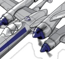 X Plane Sticker