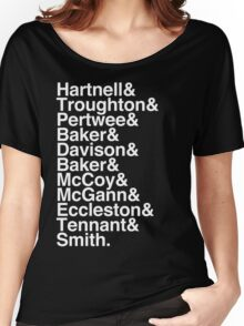 All Doctor - Hartnell to Smith, Whitout Hurt Women's Relaxed Fit T-Shirt