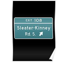 Sleater-kinney Intersection Poster
