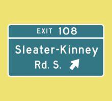 Sleater-kinney Intersection Kids Tee