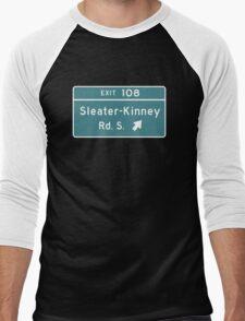 Sleater-kinney Intersection Men's Baseball ¾ T-Shirt