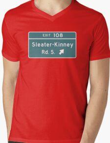 Sleater-kinney Intersection Mens V-Neck T-Shirt