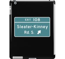 Sleater-kinney Intersection iPad Case/Skin